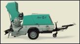 Универсальные пневматические транспортировочные станции с дизельным двигателем MOVER 270D.